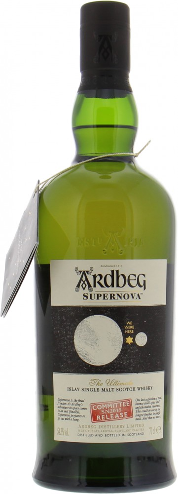 Ardbeg - Supernova SN 2015 Ardbeg Committee Exclusive 54.3% NV