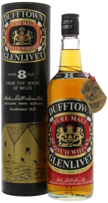 Dufftown - 8 Years Old Pure Malt Bell's 40% NV