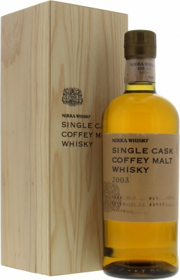 2003 Single Cask Coffey Malt Cask 245347 54%Nikka -