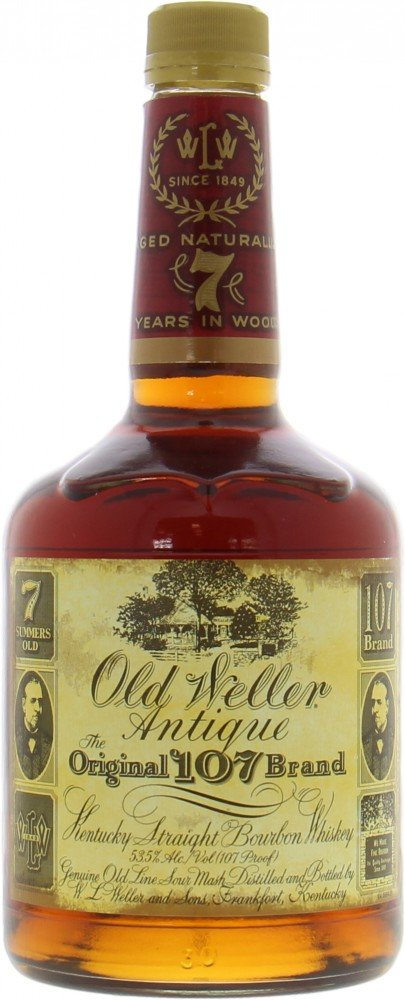 Buffalo Trace - Old Weller Antique The Original 107 Brand 53.5% NV