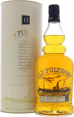12 Years Old 43%Old Pulteney -