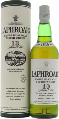 10 Years Old Feathered Crest Badge 43%Laphroaig -