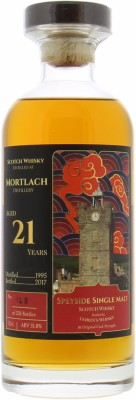 Mortlach - 21 Years Old Goren's Whisky 51.8% 1995