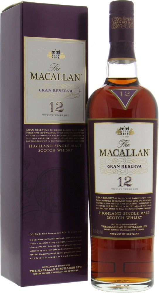 Macallan - 12 Years Old Gran Reserva 45.6% NV