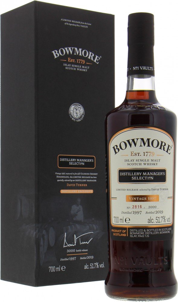 Bowmore - Distillery Manager's Selection Casks 653-658 , 660-665 51.7% NV