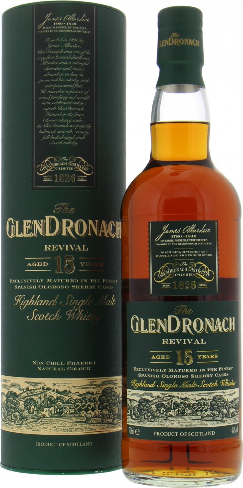 Glendronach - 15 Years Old Revival 46%