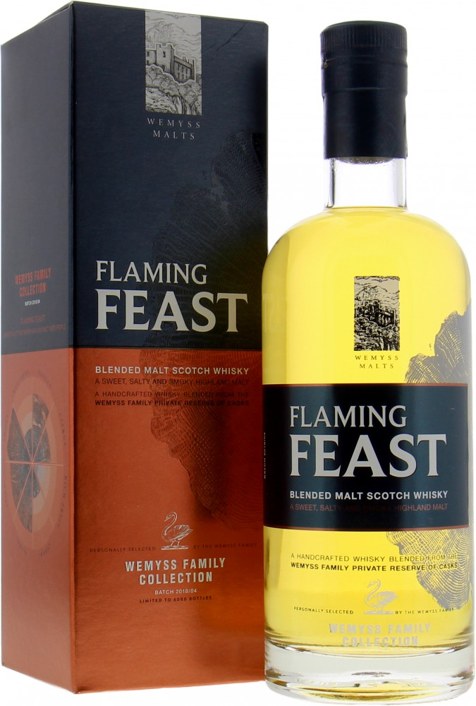 Wemyss Malts - Flaming Feast 46%