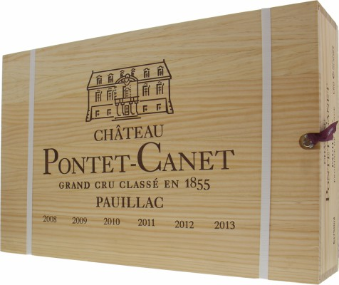 Chateau Pontet Canet - Assortment Vertical 2008-2013 NV