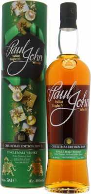 Paul John - Christmas Edition 2019 46% NV