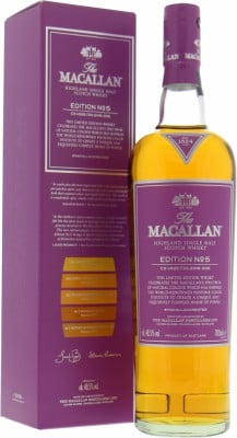 Edition No.5 48.5%Macallan -