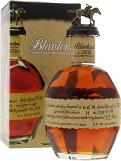 Blanton's Original Single Barrel Cask 838 46.5%