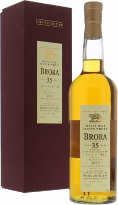 Brora - 12th Release 35 Years Old 49.9% 1977