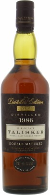 Talisker - 1986 The Distillers Edition 45.8% 1986