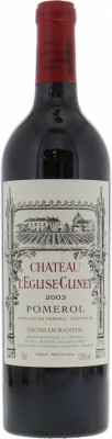 Chateau Eglise Clinet - Chateau Eglise Clinet 2003