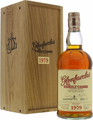 1979 The Family Casks Release III Cask 2216 50.6%Glenfarclas -