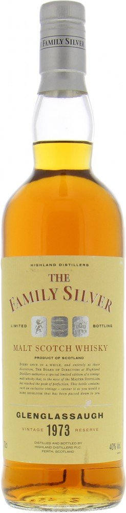 Glenglassaugh - 1973 Family Silver 1973