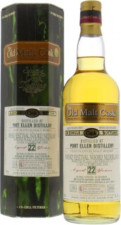 22 Years Old Douglas Laing  Old Malt Cask DL 2398 54.3%