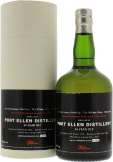 Douglas Laing The Whisky Shop 10th Anniversary Bottling 57.9%