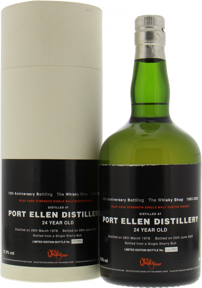Port Ellen - Douglas Laing The Whisky Shop 10th Anniversary Bottling 57.9% 1978
