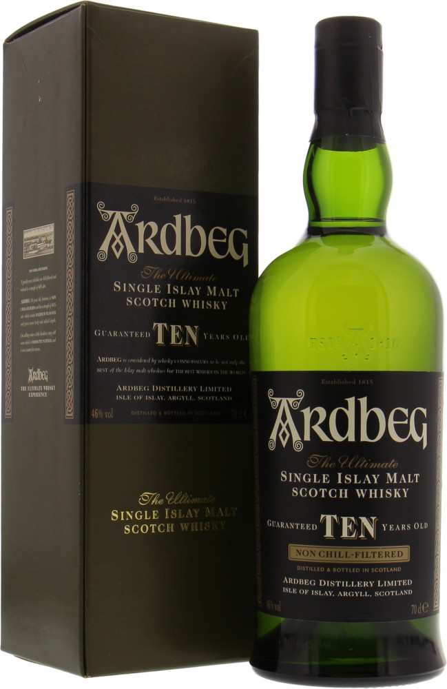 Ardbeg - Ten Edition 2004 46% NV
