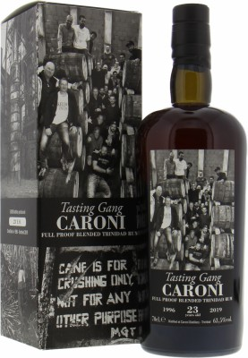 Caroni - 23 Years Old The Tasting Gang 63.5% 1996