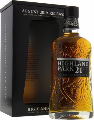 Highland Park - 21 Years Old August 2019 Release 46% NV