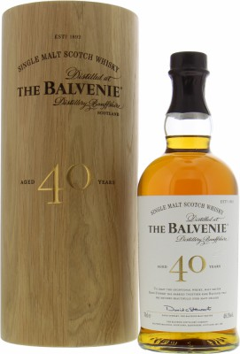 Balvenie - 40 Years Old  Batch 7 48.5% NV