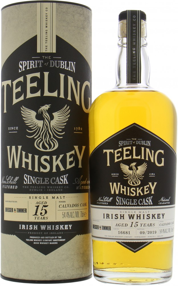 Teeling - 15 Years Old Cask 16681 Calvados Finish 54.4% NV