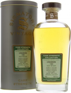 18 Years Old Signatory Vintage Cask 18743 54.5%