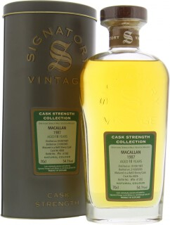 18 Years Old Signatory Vintage Cask 6826 54.1%