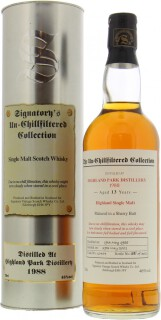 13 Years Old Signatory Vintage Cask 10454 46%