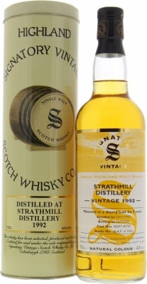 9 Years Old Signatory Vintage Cask 40697-40700 43%Strathmill -
