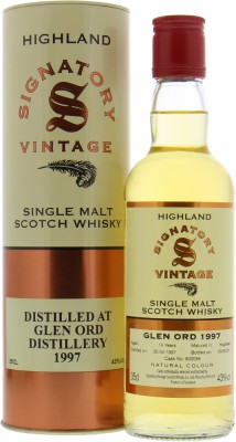 13 Years Old Signatory Vintage Cask 800086 43%Glen Ord -