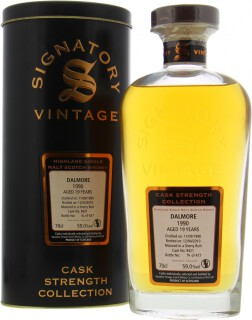 19 Years Old Signatory Vintage Cask 9421 59%