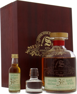 Dailuaine - 36 Years Old 10th Anniversary of Signatory Vintage Cask 11282 49.4% 1962