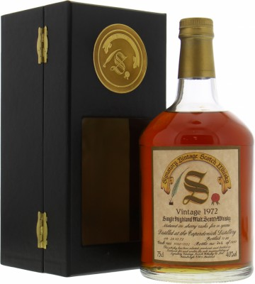 Caperdonich - 16 Years Old Signatory Vintage Dumpy Cask 7130-7132 40% 1972