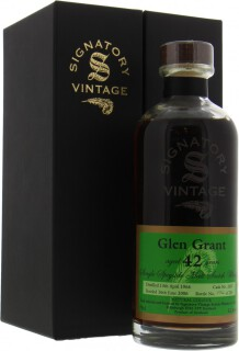 42 Years Old Signatory Vintage Decanter Collection Cask 2632 52.8%