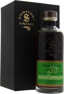 Glen Grant - 42 Years Old Signatory Vintage Decanter Collection Cask 2632 52.8% 1964