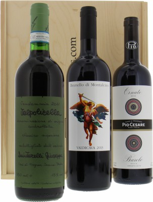 Wine gift - Gift set Italian wines NV