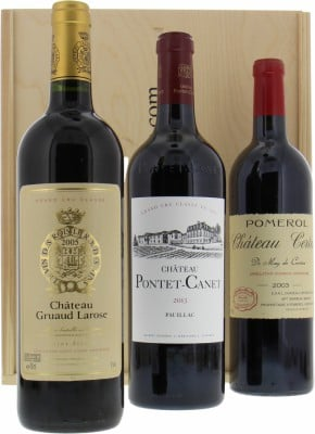 Wine gift - Gift set Bordeaux wines NV