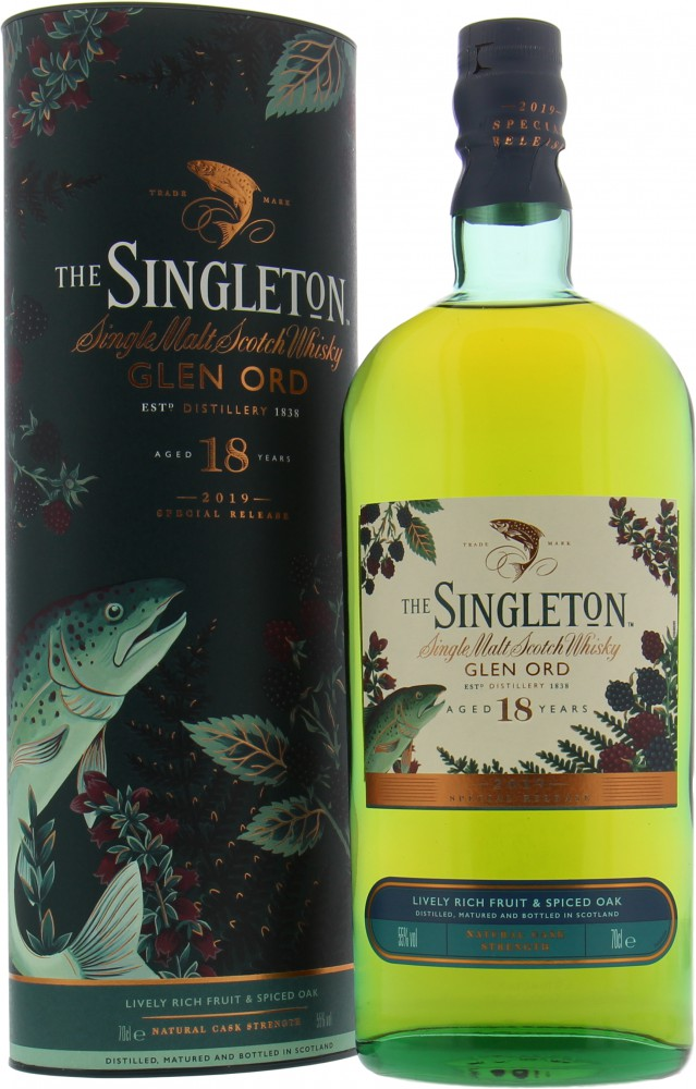 Glen Ord - The Singleton 18 Years Old Diageo Special Releases 2019 55% NV