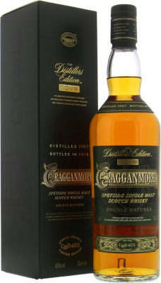 12 Years Old The Distillers Edition 2019 40%Cragganmore -