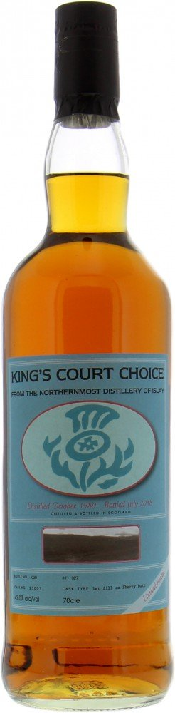 Bunnahabhain - 28 Years Old King's Court Whisky Society Cask 23003 42% 1989