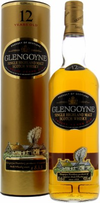 Glengoyne - 12 Years Old Kiln With Smoke Cork Stopper 43% NV