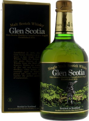 14 Years Dumpy Bottle 40%Glen Scotia  -