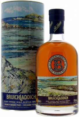33 Years Old Legacy Series V 40.9%Bruichladdich  -