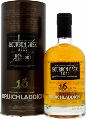 Bruichladdich - The Sixteens Bourbon 46% NV