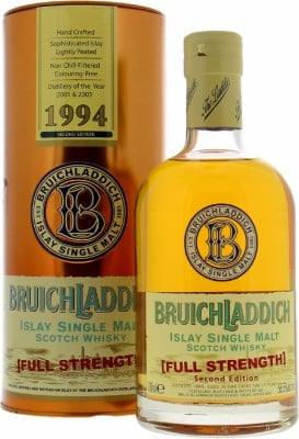 Bruichladdich - Full Strength 2nd Edition 56.5% 1994