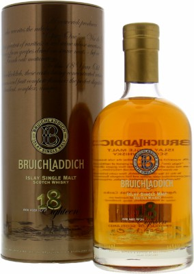 18 Years Old 46%Bruichladdich -