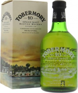 Tobermory - 10 Years Old Dumpy 2002 Glass print label 40%